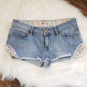 Roxy Shorts with embroidery
